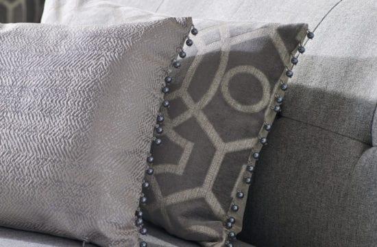 Made to measure design studio cushion